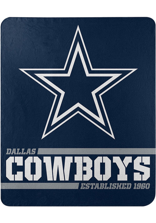 "Dallas Cowboys NFL Football 50"" x 60"" Singular Fleece Blanket - Dynasty Sports & Framing"