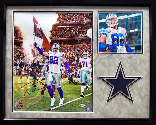 "Jason Witten Dallas Cowboys Autographed 20"" x 24"" Framed Collage Football Photo"