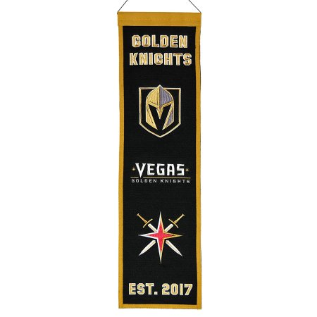 Vegas Golden Knights NHL Hockey Heritage Banner - Dynasty Sports & Framing