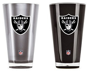 Oakland Raiders NFL Football 2-Pack Tumbler Cup Set