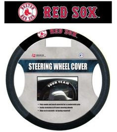 Boston Red Sox MLB Baseball Steering Wheel Cover - Dynasty Sports & Framing