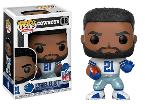 Dallas Cowboys Ezekiel Elliott Funko Pop! NFL Series 4 Vinyl Figure - Dynasty Sports & Framing