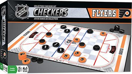 Philadelphia Flyers Checkers Board Game - Dynasty Sports & Framing