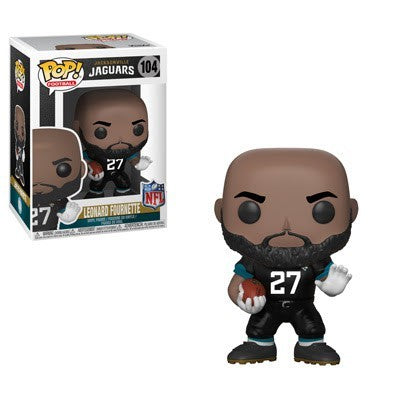 Leonard Fournette Jacksonville Jaguars Funko Pop! #104 Vinyl Figure - Dynasty Sports & Framing