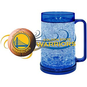 Golden State Warriors NBA Basketball Freezer Mug - Dynasty Sports & Framing