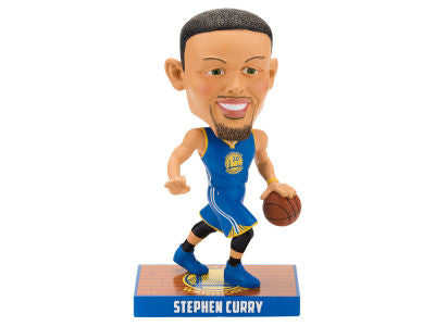 Golden State Warriors Stephen Curry NBA Basketball Bobblehead - Dynasty Sports & Framing