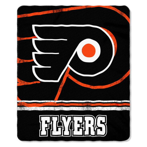 "Philadelphia Flyers 50""x60"" Marque Fleece Blanket - Dynasty Sports & Framing"