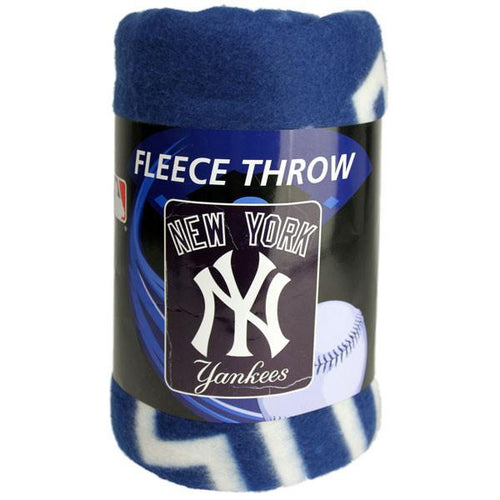 New York Yankees Fleece Blanket - Dynasty Sports & Framing