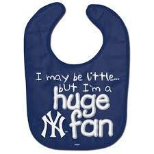 New York Yankees Huge Fan MLB Baseball Baby Bib - Dynasty Sports & Framing