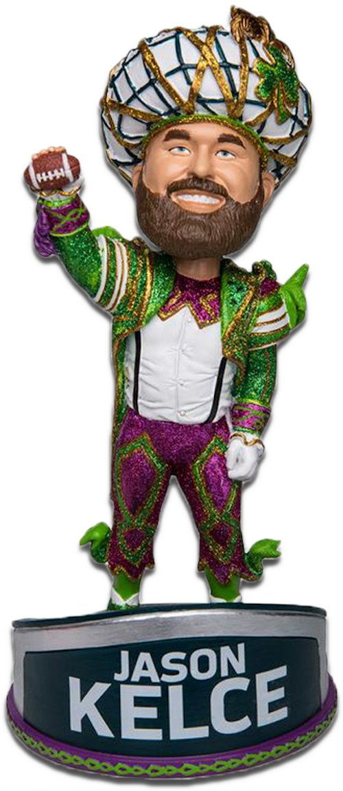 Jason Kelce Philadelphia Eagles Super Bowl LII Parade Speech Bobblehead