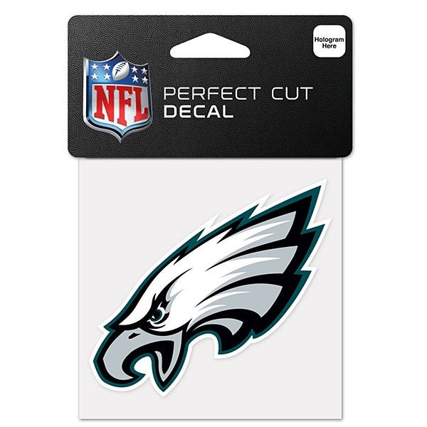 "Philadelphia Eagles NFL Football 4"" x 4"" Decal - Dynasty Sports & Framing"
