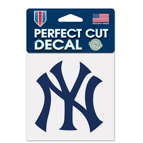 "New York Yankees MLB Baseball 4"" x 4"" Decal - Dynasty Sports & Framing"