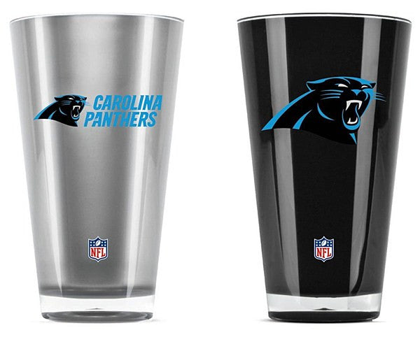 Carolina Panthers 2-Pack Tumbler Cup Set - Dynasty Sports & Framing