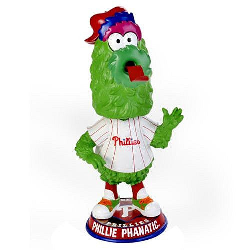 Philadelphia Phillies Phanatic Big Head Bobblehead - Dynasty Sports & Framing