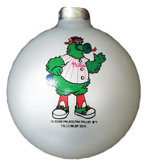 Philadelphia Phillies Phanatic Traditional Ball Ornament - Dynasty Sports & Framing