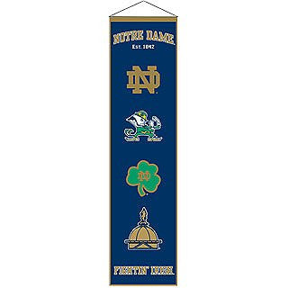 Notre Dame Fighting Irish Heritage Banner - Dynasty Sports & Framing