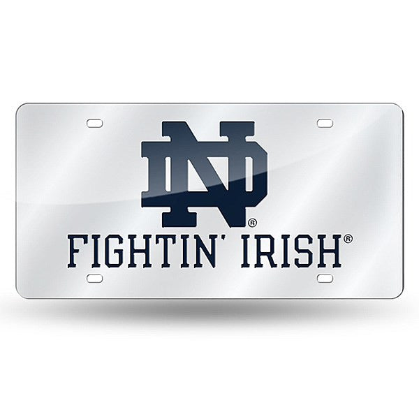 Notre Dame Fighting Irish NCAA College Laser Cut License Plate - Dynasty Sports & Framing
