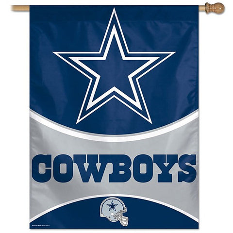 "Dallas Cowboys NFL 27"" X 37"" Vertical Flag"