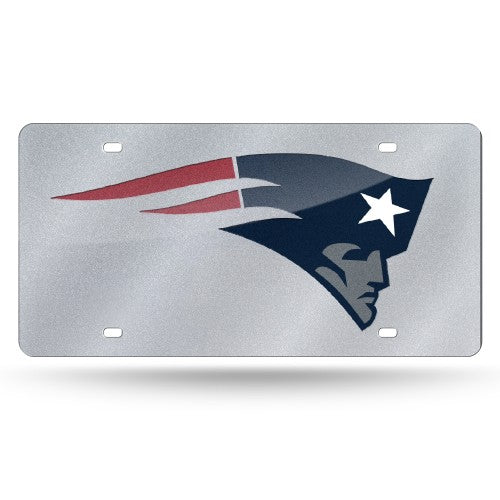 New England Patriots NFL Laser Cut License Plate