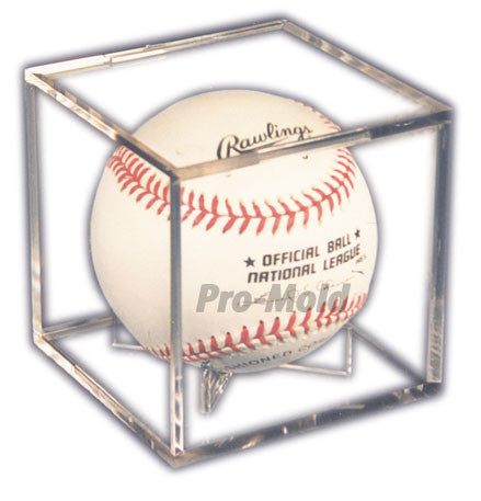 Baseball Cube Display Case with Stand - Dynasty Sports & Framing