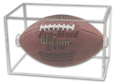 Football Square Pro Mold Acrylic Display Case - Dynasty Sports & Framing