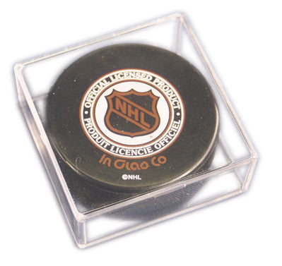 Hockey Puck Pro Mold Acrylic Display Case | 2 Pack - Dynasty Sports & Framing