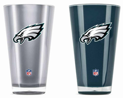 Philadelphia Eagles NFL Football 2-Pack Tumbler Cup Set
