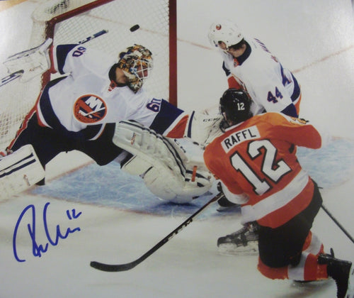 Philadelphia Flyers Michael Raffl Goal Autographed NHL Hockey Photo - Dynasty Sports & Framing
