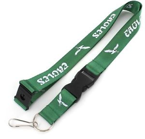Philadelphia Eagles NFL Football Kelly Green Breakaway Lanyard