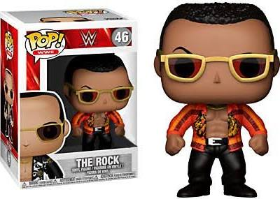 WWE The Rock Funko Pop! Series 7 Vinyl Figure