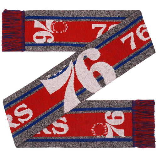 Philadelphia 76ers NBA Charcoal Scarf - Dynasty Sports & Framing