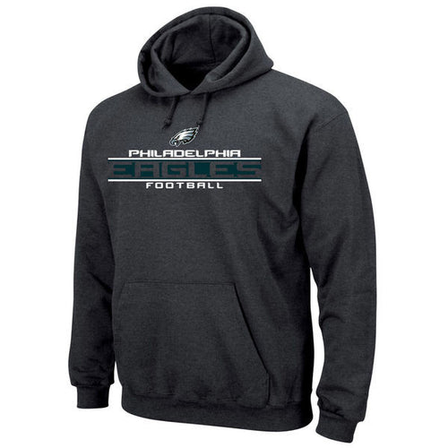Philadelphia Eagles Charcoal Grey NFL Pullover Hoodie - Dynasty Sports & Framing