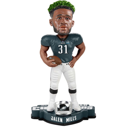 Philadelphia Eagles Super Bowl LII Champions Jalen Mills NFL Bobblehead - Dynasty Sports & Framing