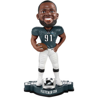 Philadelphia Eagles Super Bowl LII Champions Fletcher Cox NFL Bobblehead