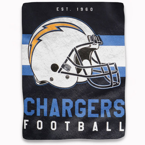 "Los Angeles Chargers NFL Football 50"" x 60"" Marquee Fleece Blanket"