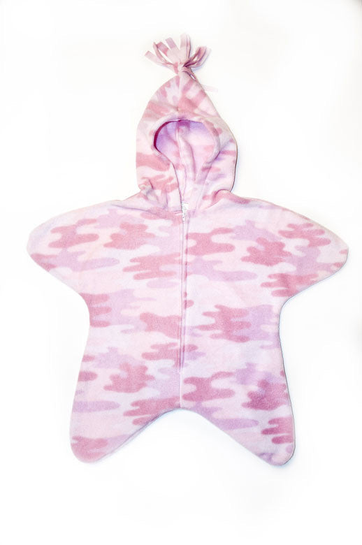 Pink Camo Baby Bunting