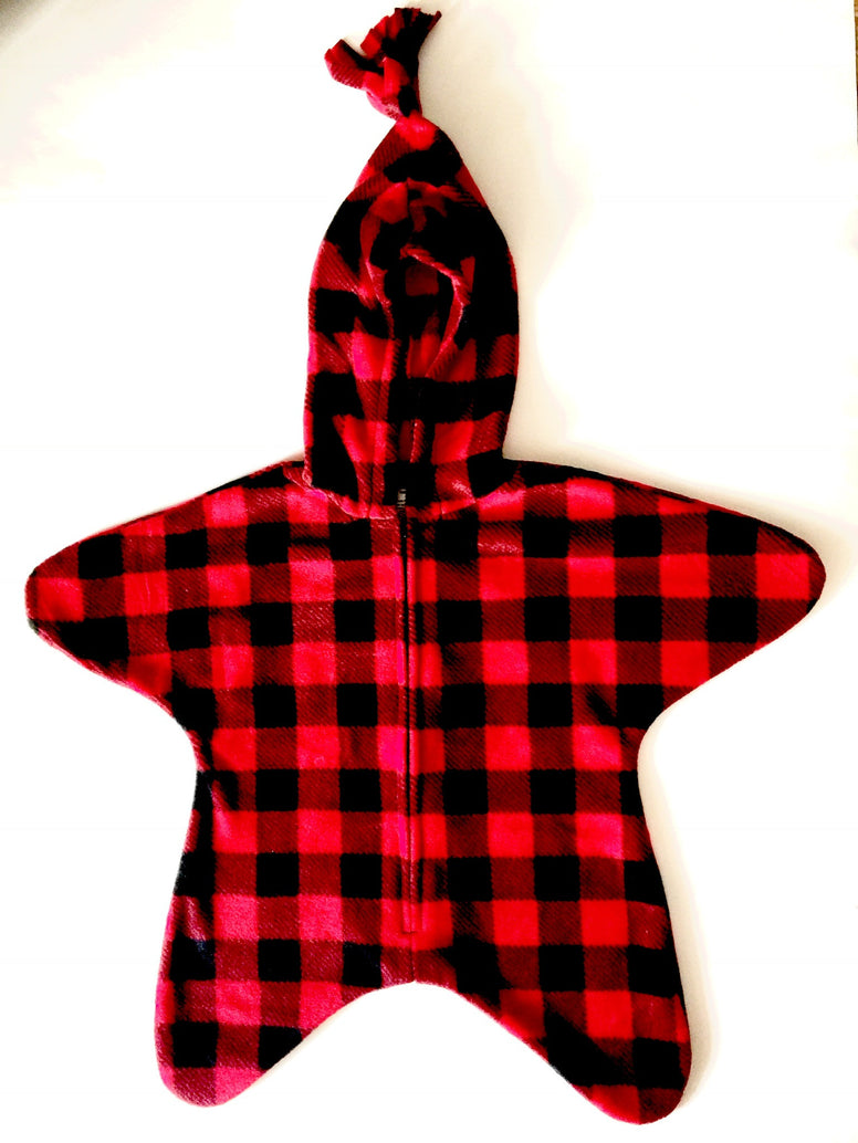 Red Buffalo Check Baby Bunting