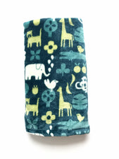 Jungle Animals Stroller Blanket