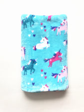 Unicorns Stroller Blanket