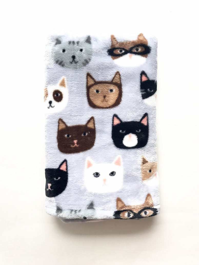 Cool Cats Stroller Blanket