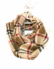 London Plaid Infinity Scarf