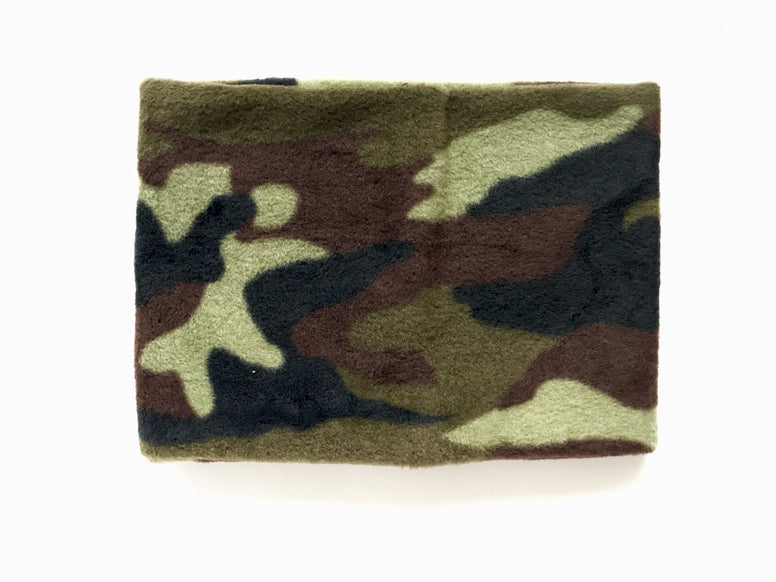 Green Camo Neck warmer