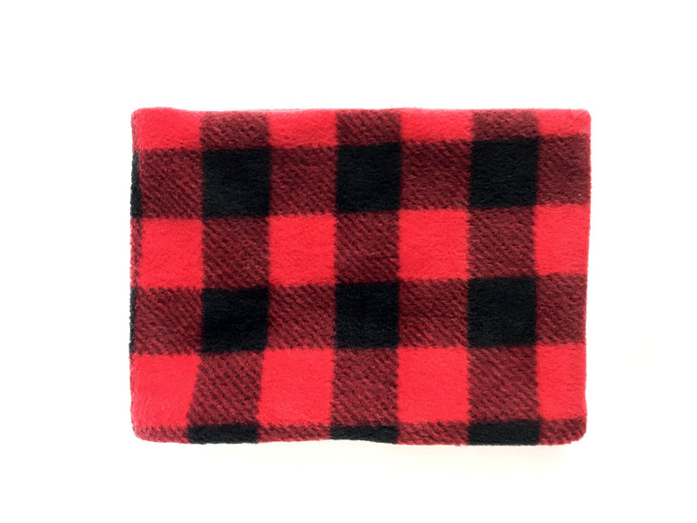 Red Buffalo Check Neck warmer
