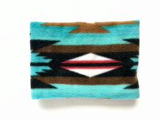 Teal Navajo Neck warmer