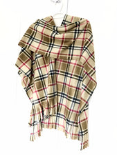London Plaid Ladies Wrap