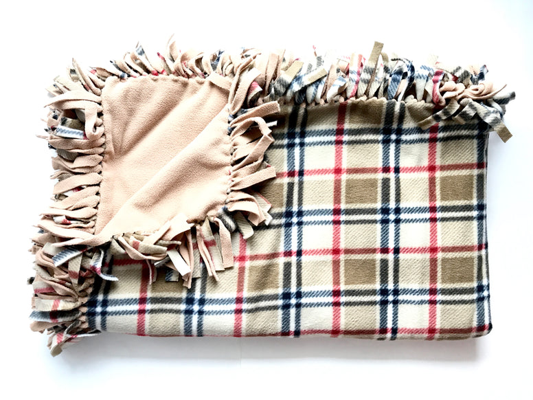 London Plaid Medium Blanket