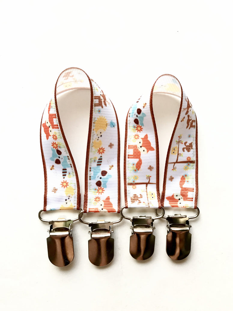 Forest Animals Mitten Clips