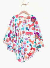 Mermaids Little Kid Poncho