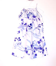 Blue Flowers Pillowcase Dress