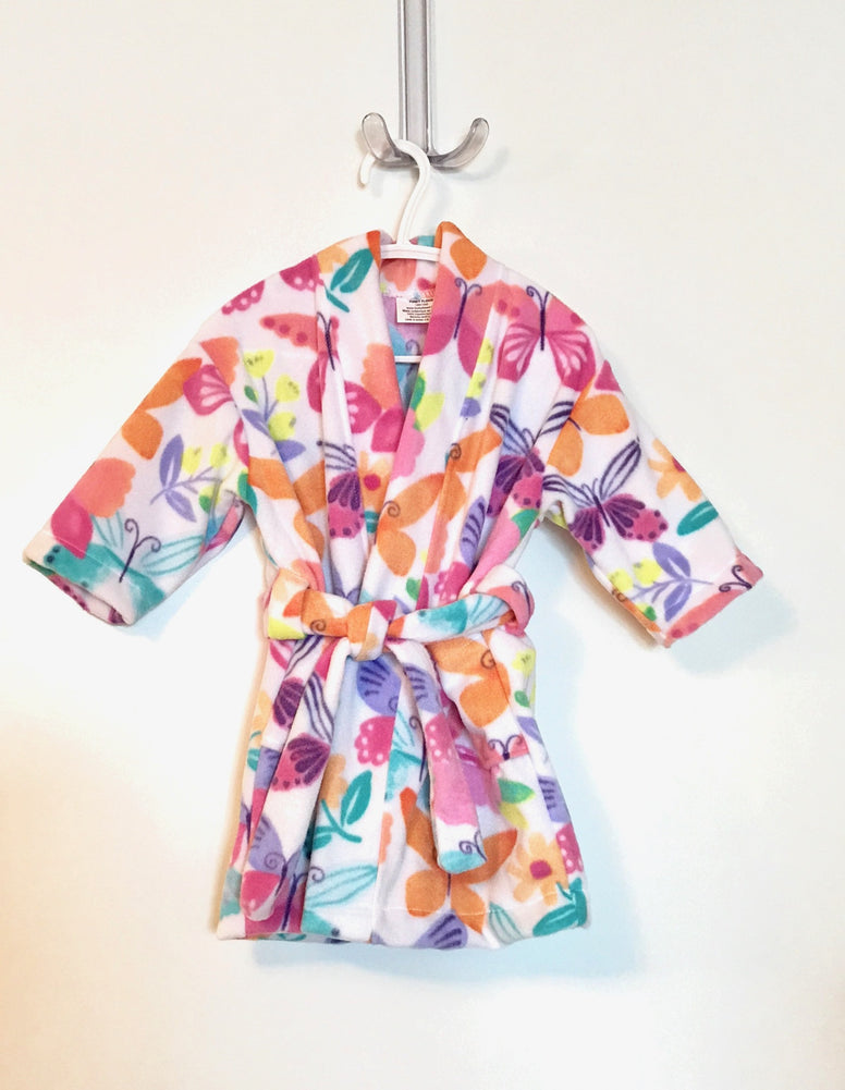 Butterfly Big Kids Bath Robe
